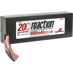 LiPol Reaction Car 7.4V 4000mAh 20C HC Traxxas
