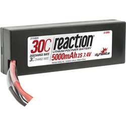 LiPol Reaction Car 7.4V 5000mAh 30C HC Traxxas