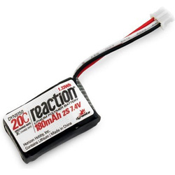 LiPol Reaction Air 7.4V 180mAh 20C 26AWG