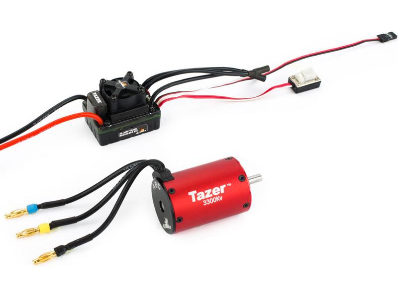 Striedavý elektromotor Tazer 1:10 3300ot/V 4P + reg.