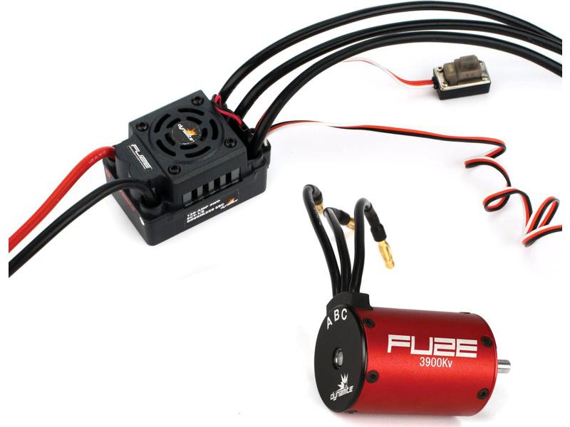 Striedavý elektromotor Fuze 1:8 3900ot/V 4P + reg.
