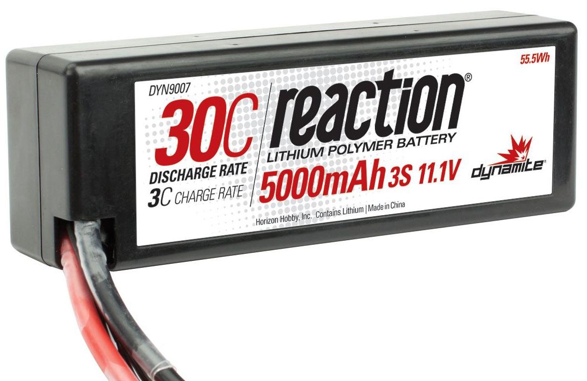 Náhled produktu - LiPol Reaction Car 11.1V 5000mAh 30C HC EC3