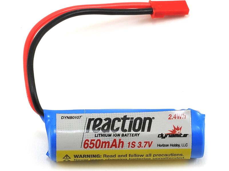 Náhled produktu - Baterie LiIon 3.7V 650mAh 1S JST React