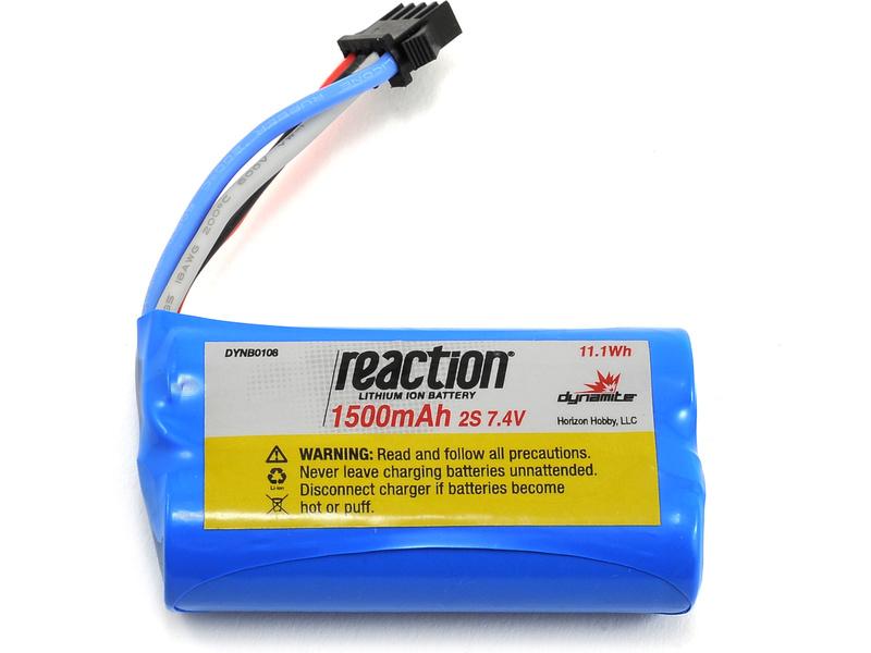 Náhled produktu - React: LiIon 1500mAh 7.4V