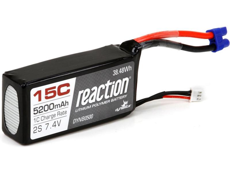Náhled produktu - Baterie LiPol 7.4V 5200mAh 15C Rx