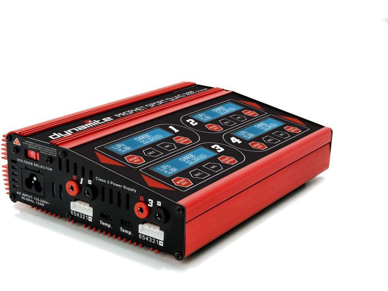 Náhled produktu - Nabíječ Prophet Sport Quad LiPol/NiMH 4X50W AC/DC