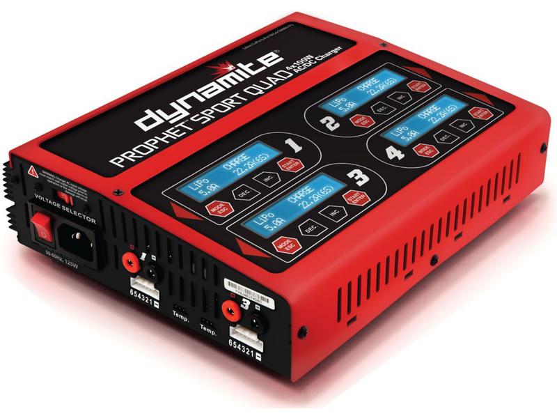 Náhled produktu - Nabíječ Prophet Sport Quad LiPol/NiMH 4X100W AC/DC