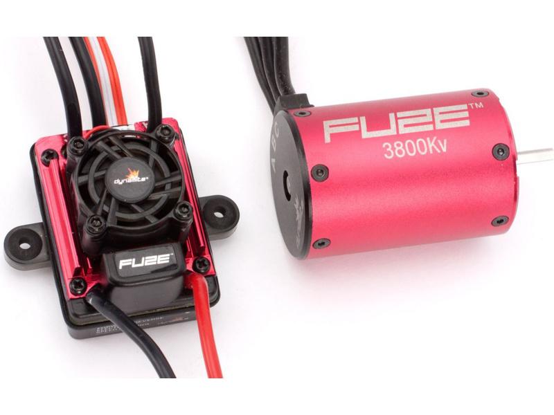 Náhled produktu - Střídavý elektromotor Fuze 1:10 3800ot/V 4P + reg.