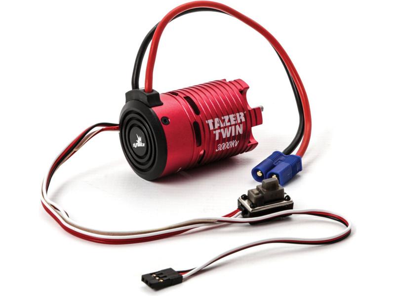 Náhled produktu - Střídavý elektromotor 1:10 3000Kv 2WD + regulátor