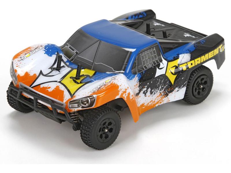 Náhled produktu - 1:24 ECX Torment Short Course 4WD RTR - oranžový