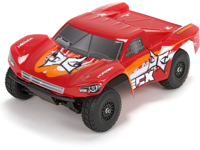Náhled produktu - 1:18 ECX Torment Short Course 4WD RTR - červený