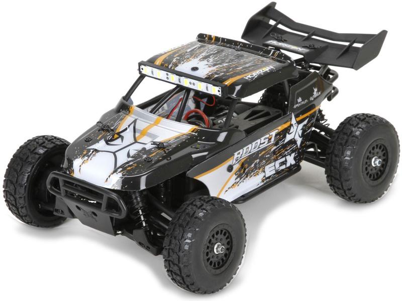 Náhled produktu - 1:18 ECX Roost Desert Buggy 4WD oranžová