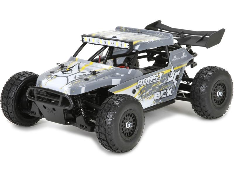 Náhled produktu - 1:18 ECX Roost Desert Buggy 4WD žlutá