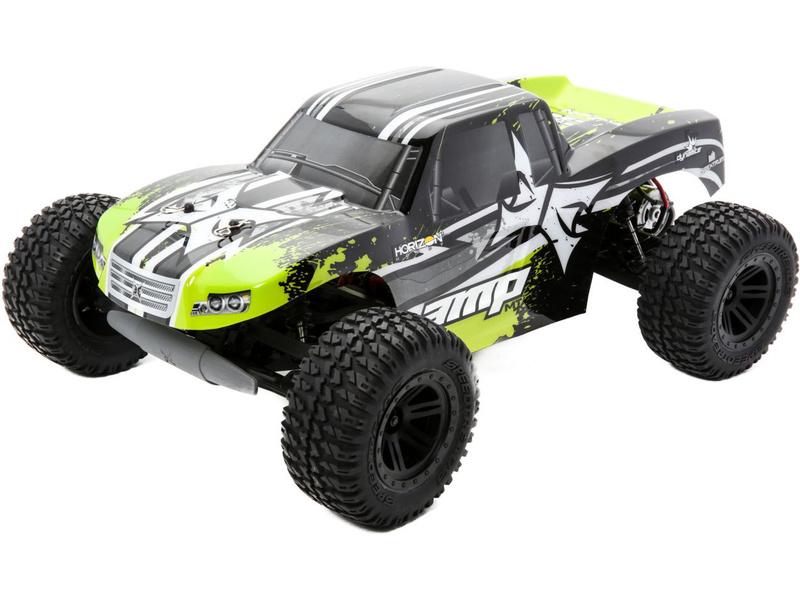 Náhled produktu - 1:10 ECX AMP Monster Truck 2WD RTR - černá/zelená