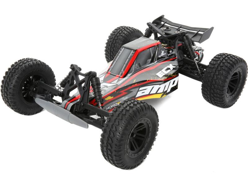 Náhled produktu - 1:10 ECX AMP Desert Buggy 2WD RTR - černá/žlutá