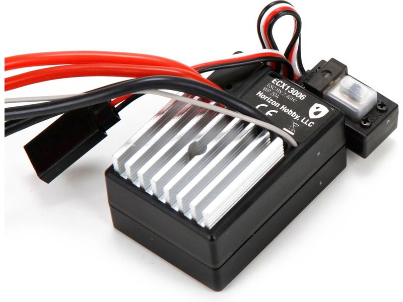 Náhled produktu - ECX - Přijímač 2.4GHz V3 + ESC voděodolný 1:10