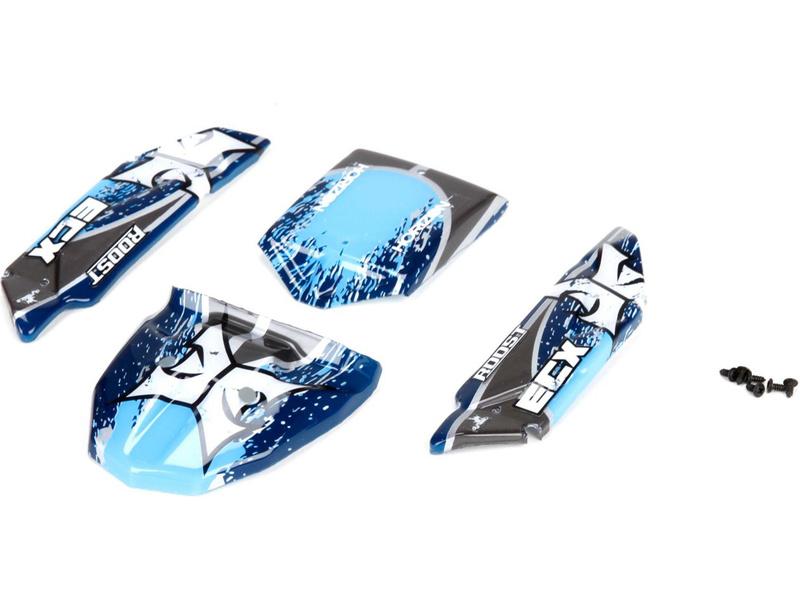 Náhled produktu - ECX 1:24 Roost - Karosérie modrá/šedá