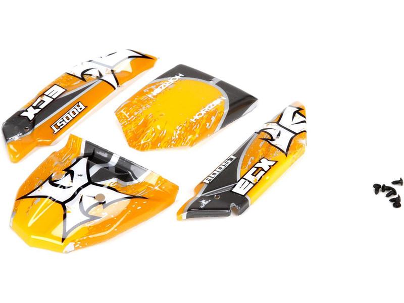 Náhled produktu - ECX 1:24 Roost - Karosérie oranžová/šedá
