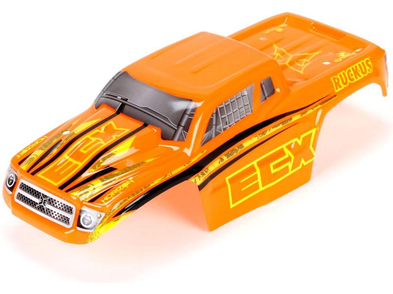Náhled produktu - ECX 1:18 Ruckus - Karosérie oranžová