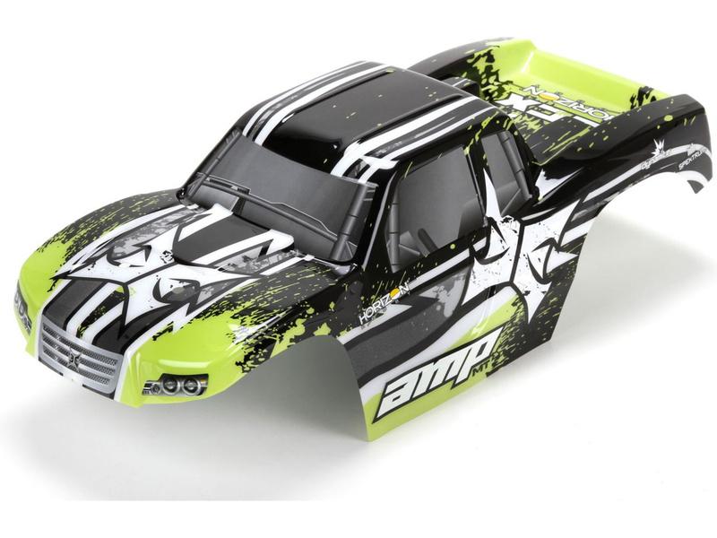 Náhled produktu - ECX AMP MT - Karosérie černá/zelená