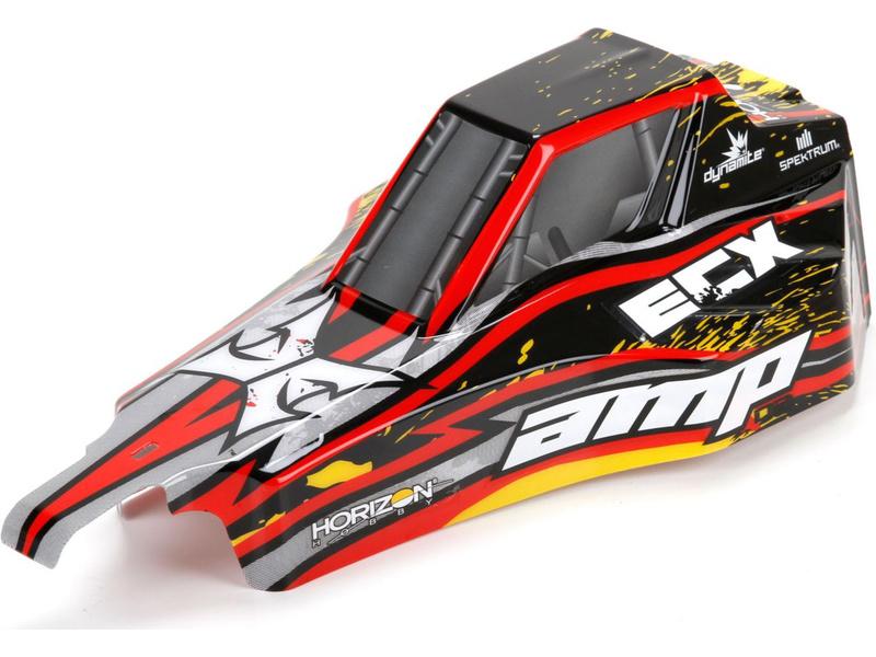 Náhled produktu - ECX AMP DB - Karosérie černá/žlutá