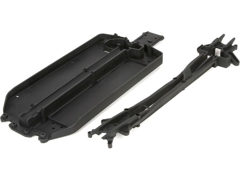 Náhled produktu - ECX 1:10 4WD - Deska šasi, horní díl dlouhý (1)