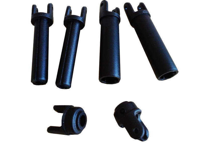 Náhled produktu - ECX - Hřídel dlouhá plast HD (2)