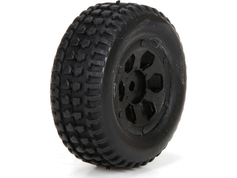 Náhled produktu - ECX 1:24 Torment - Kola přední / zadní s pneu