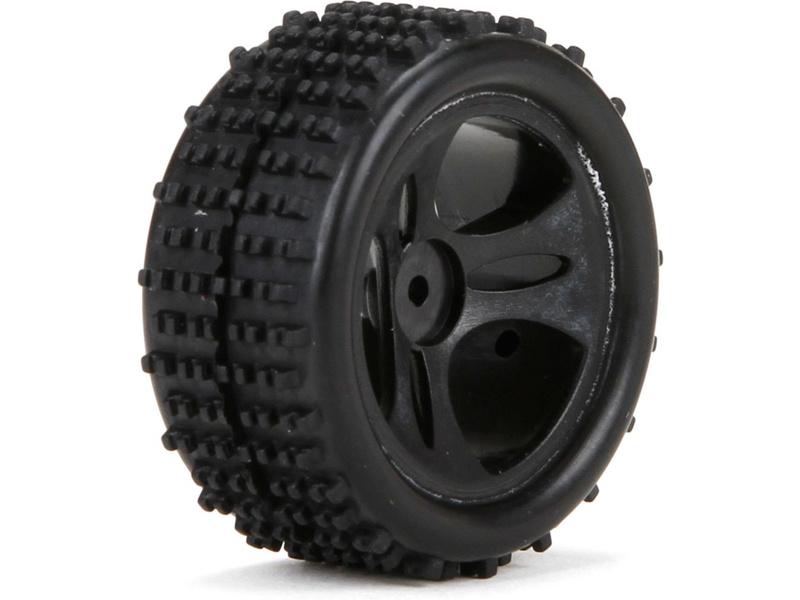 Náhled produktu - ECX 1:24 Roost - Kolo přední / zadní s pneu (2)