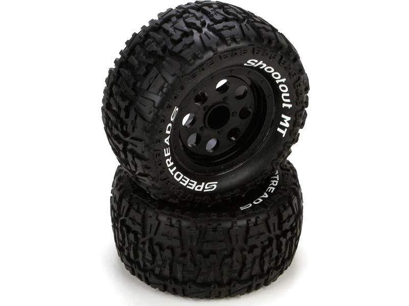 Náhled produktu - ECX Ruckus - Kola kompletní s pneu přední/zad (2)