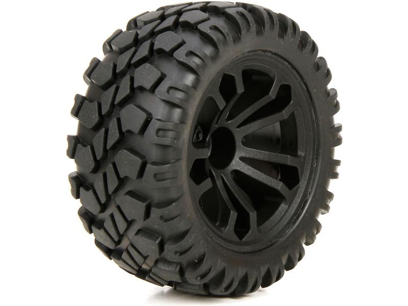 Náhled produktu - ECX 1:10 4WD Circuit - Přední/zadní kola (2)