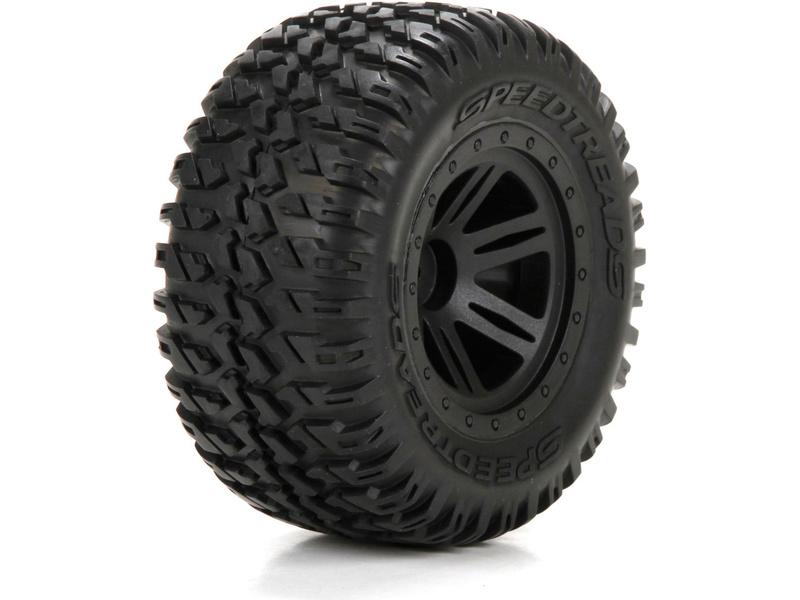 Náhled produktu - ECX 1:10 AMP DB/MT - Disk kola s pneu P/Z (2)