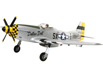 P-51D Mustang Bind & Fly Basic AS3X / EFL6750