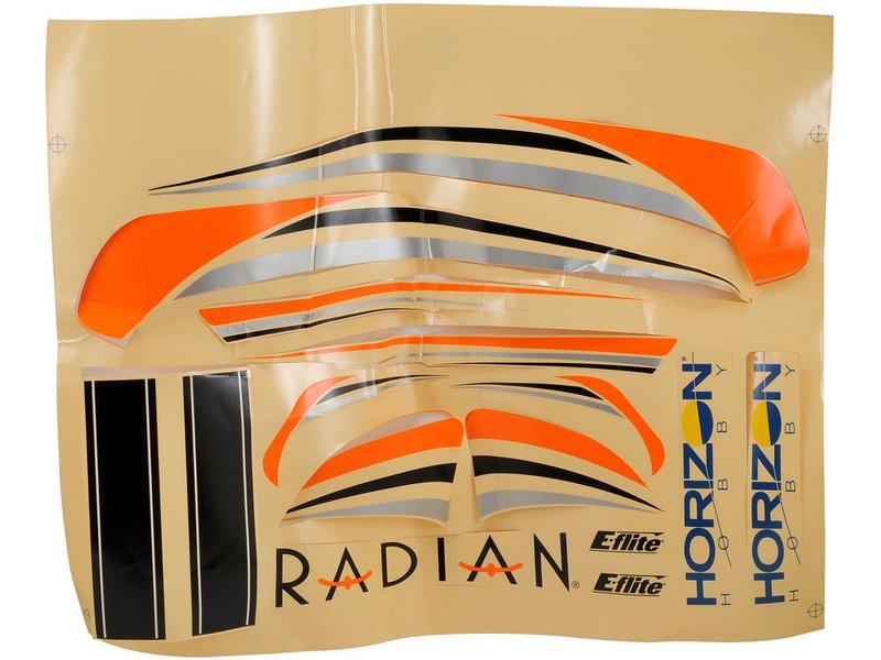 Náhled produktu - Radian - samolepky