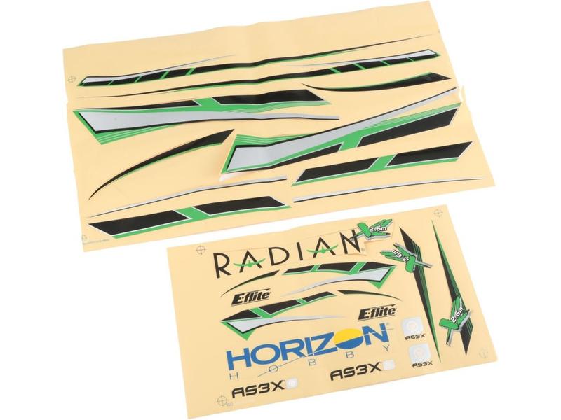 Náhled produktu - Radian XL 2.6 - samolepky