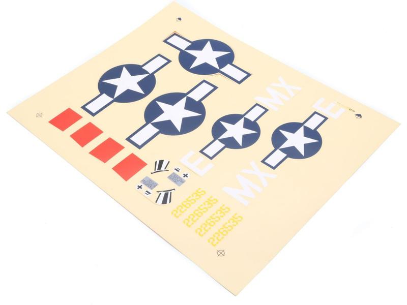 Náhled produktu - P-47D Thunderbolt - samolepky