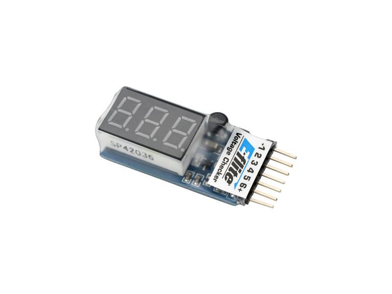 Tester LiPol baterií