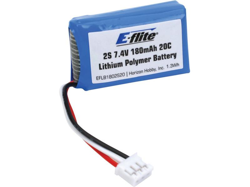 Náhled produktu - LiPol 7.4V 180mAh 2čl 20C
