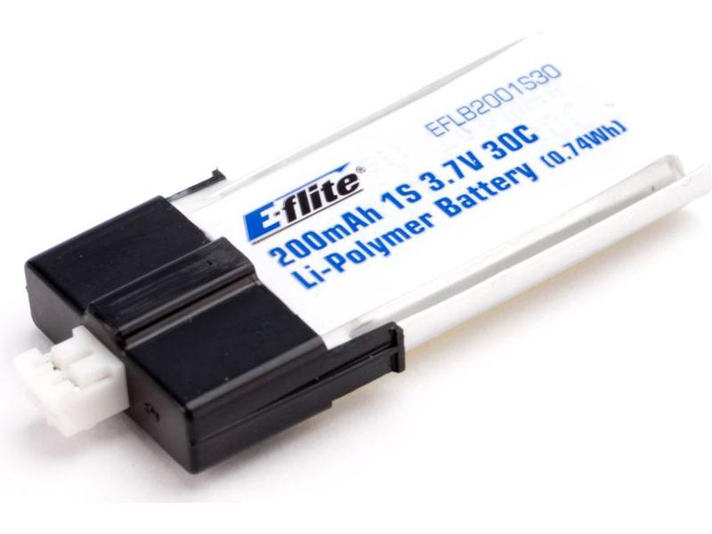 Náhled produktu - LiPol 3.7V 200mAh 30C 1článek