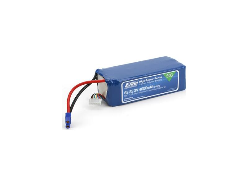 Náhled produktu - LiPol 22.2V 4000mAh 6čl 30C EC3
