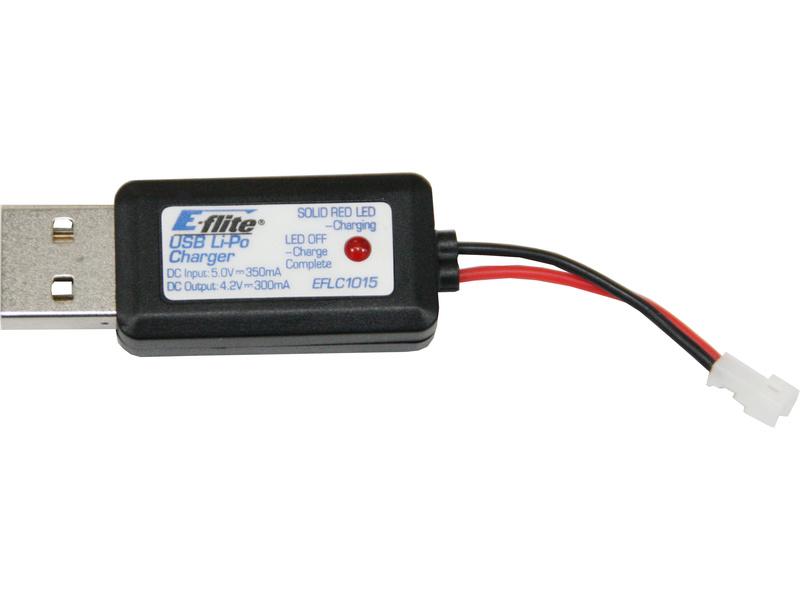 Náhled produktu - Nabíječ USB 1-článek LiPol 300mA