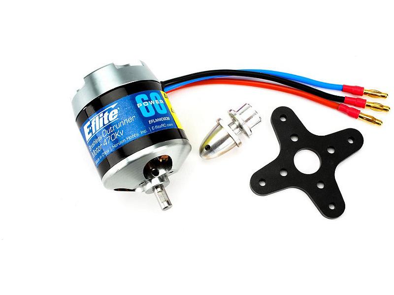 Motor střídavý Power 60 Outrunner 470ot/V