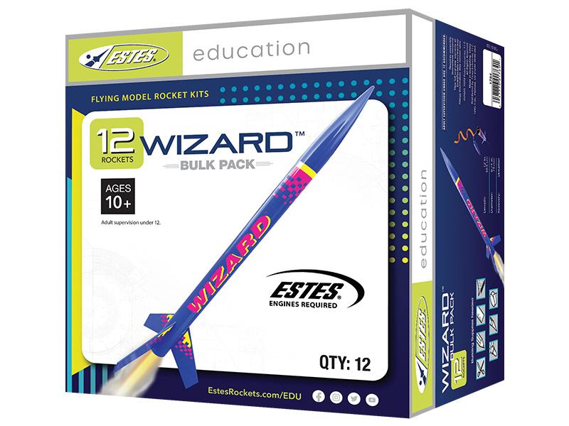 Estes Wizard Kit (12ks) - Skill Level 1