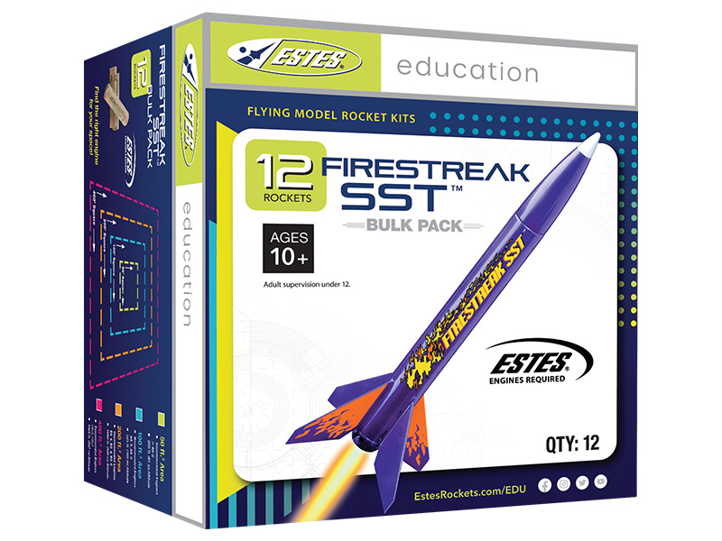 Estes - Firestreak SST E2X (12ks)