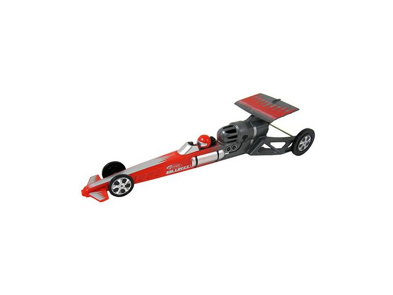 Estes - Blurzz Dragster s raket. pohonem červený