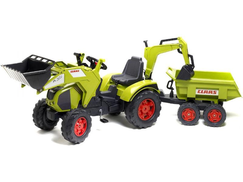Šlapací dětský traktor
