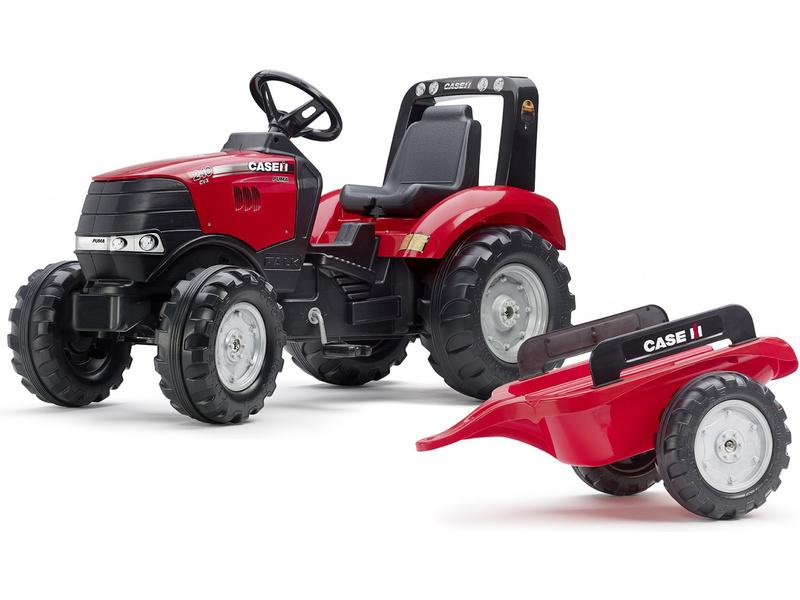 FALK - Šlapací traktor Case IH Puma 240CVX s vlečkou