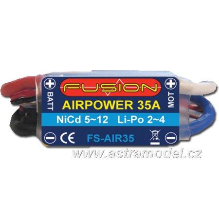 Regulátor AirPower FB 23.7g 35A 5~12čl 2~4LiPol BEC