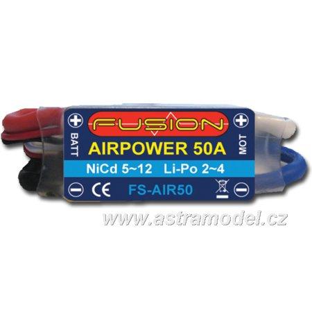 Regulátor AirPower FB 26.4g 50A 5~12čl 2~4LiPol BEC