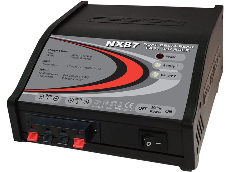 Fusion nabíjač NX87 6-8 NiMH 2x 5A AC